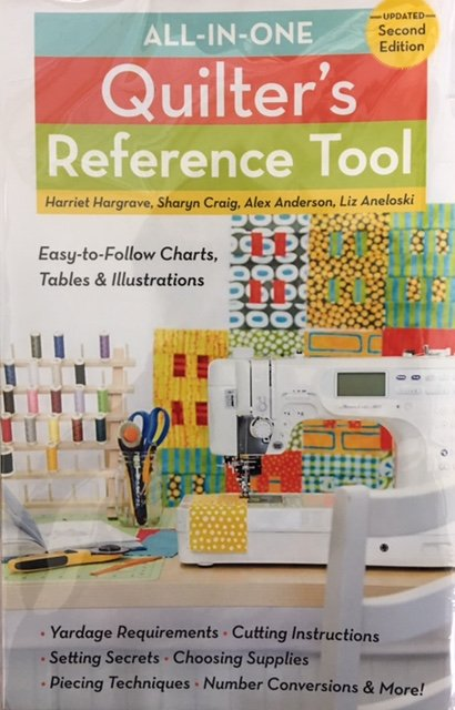11038 All-in-One Quilters Reference Tool Book
