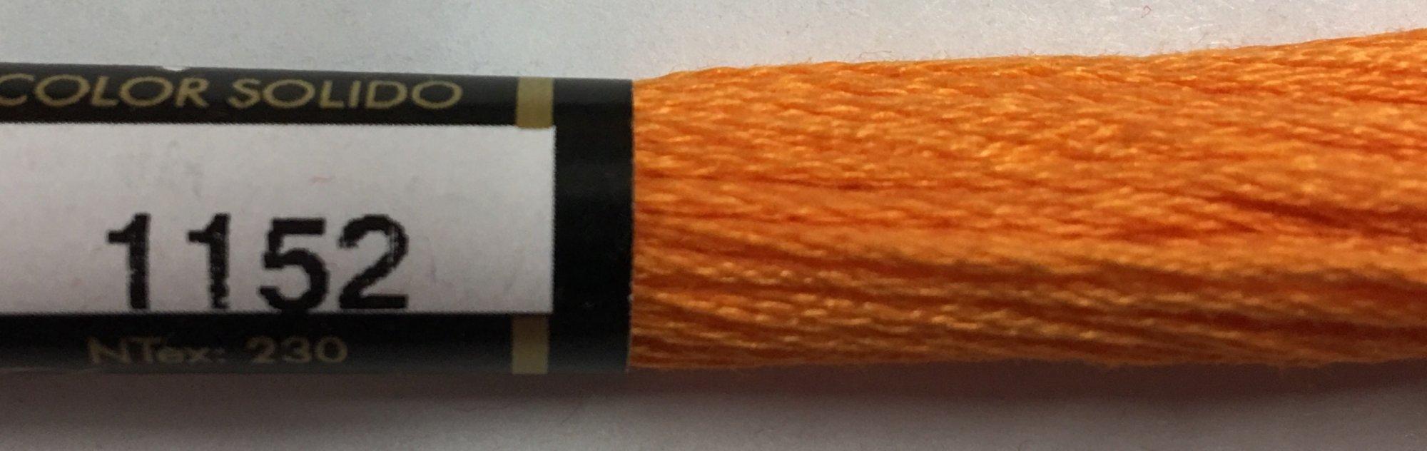 F1152 Presencia 100% Mercerized Finca Cotton 6 ply Embroidery Floss 8 meter skein