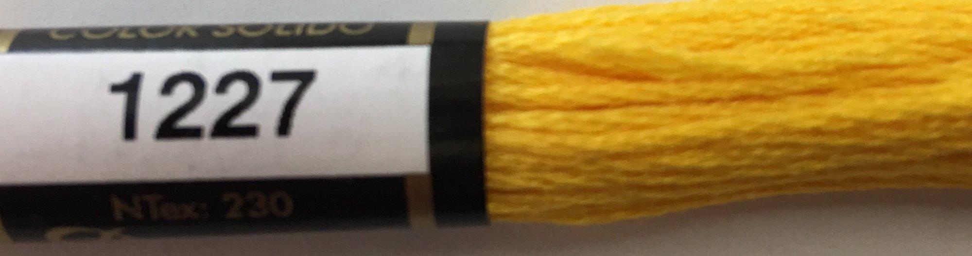 F1227 Presencia 100% Mercerized Finca Cotton 6 ply Embroidery Floss 8 meter skein