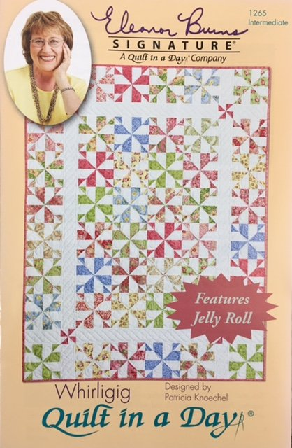 1265QD Quilt In A Day Whirligig