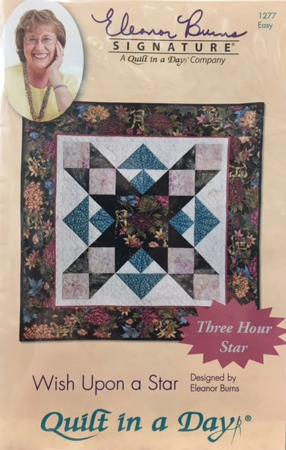 1277QD Quilt In A Day Wish Upon a Star Wall Hanging
