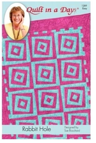 1289QD Quilt In A Day Eleanor Burns Rabbit Hole Quilt pattern