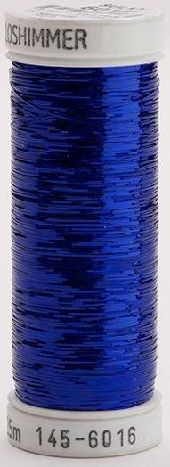 145-6016 Sulky Metallique 60% Poly 40% Polyethylene 250 yrds Holoshimmer Dark Blue