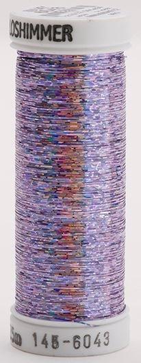 145-6043 Sulky Metallique 60% Poly 40% Polyethylene 250 yrds Holoshimmer Lavender