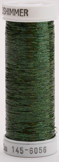 145-6056 Sulky Metallique 60% Poly 40% Polyethylene 250 yrds Holoshimmer Pine Green