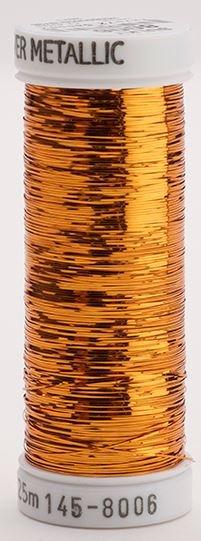 145-8006 Sulky Metallique 60% Poly 40% Polyethylene 250 yrds Sliver Bronze