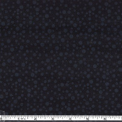 1649-21523-J Quilting Treasures Illusions Black Dots