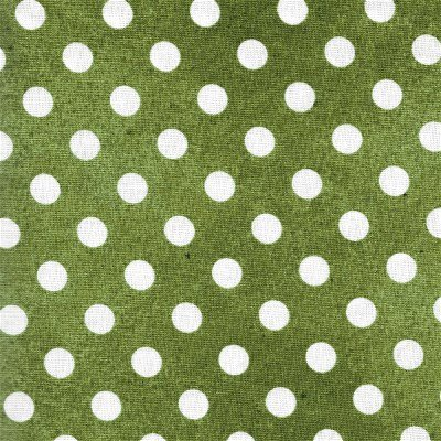 1649-21679-G Quilting Treasures DAILY GRIND GREEN POLKA DOT