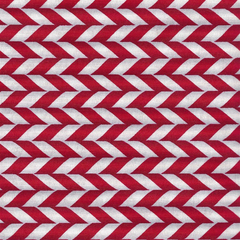 1649-22768-R, Quilting Treasures, Elf on the Shelf, Red/White Stripe