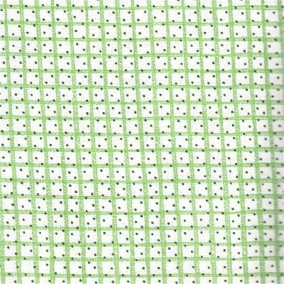1649-23281-G Quilting Treasures Snow Much Fun Green Grid