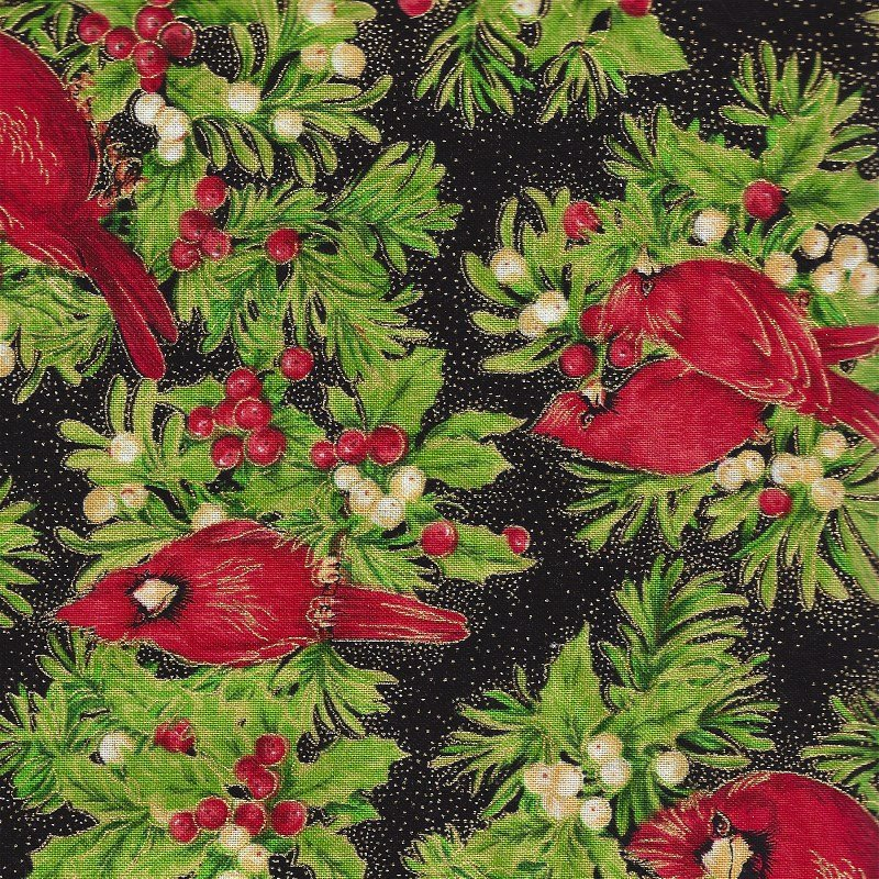 1649-45306-J, Quilting Treasures Holiday Dazzle, Christmas