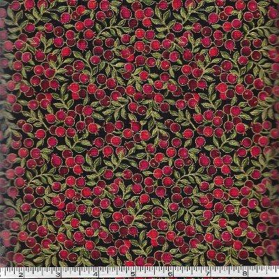1649-45426-J, Quilting Treasures Holiday Dazzle, Black