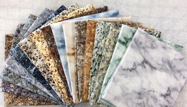 16FQBUNDLE Keama's 16 Piece Fat Quarter Bundle Stone Quilting Naturals