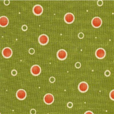 17644-15 Moda Sassy Green w/ Dots