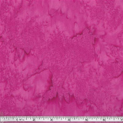1895-326 Hoffman of California Batik Water Color Zinnia Pink