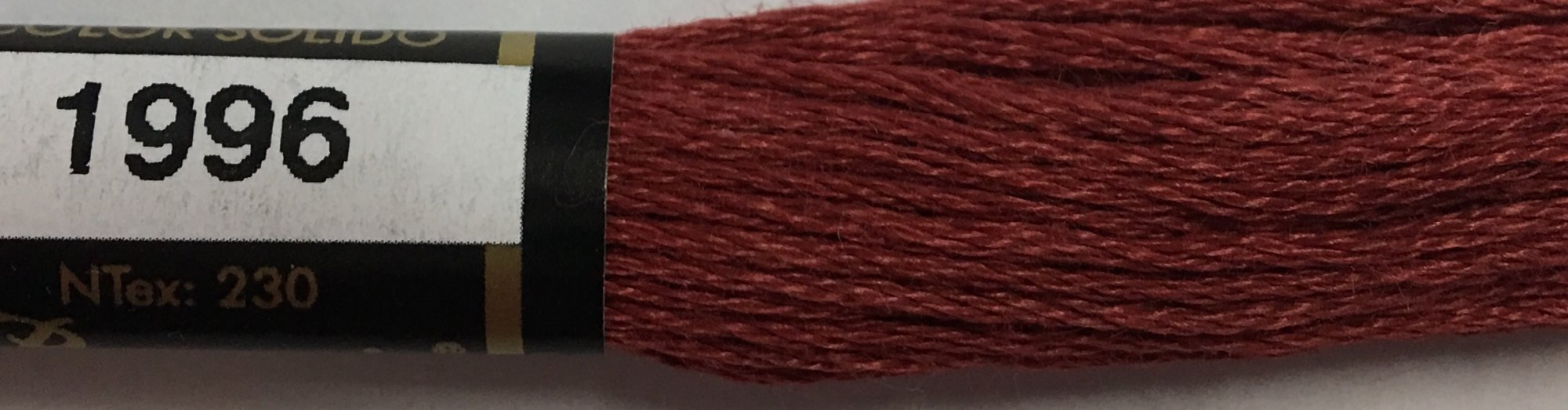 F1996 Presencia 100% Mercerized Finca Cotton 6 ply Embroidery Floss 8 meter skein