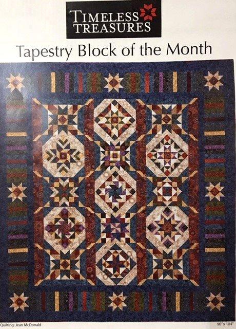 2019TAPBOMDEP Deposit Tapestry 2019 BOM Sampler Quilt from Wing and a Prayer