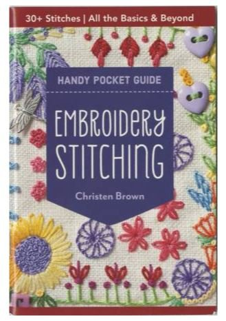 20401 Embroidery Stitching Handy Pocket Guide by Christen Brown