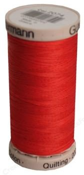 2074 Gutermann Hand Quilting Thread 220 yards Red