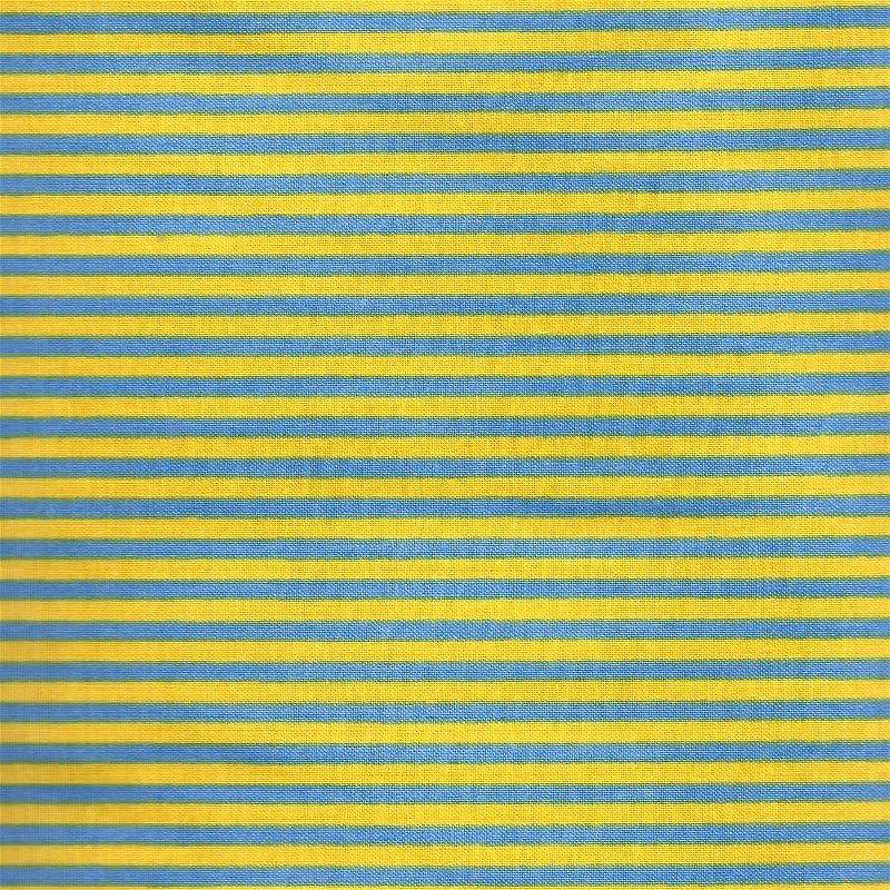 22063-13 Moda Strawberry Lemonade Yellow & Blue Stripe