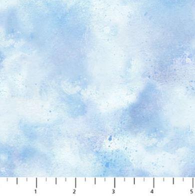 22876-41 Northcott Christmas Delivery, Blue Sky