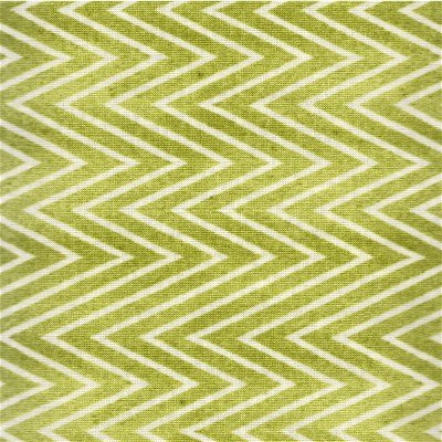 23076-H Quilting Treasures She Who Sews Light Green Chevron