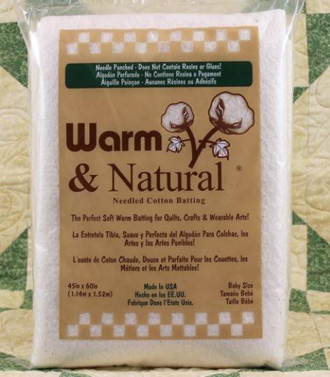 2322FWN Warm & Natural Baby Batt 45 by 60