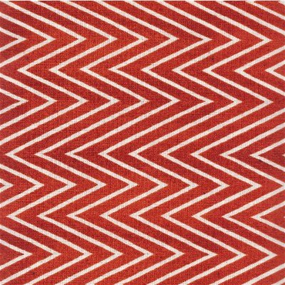 23376-R Quilting Treasures She Who Sews Red Chevron