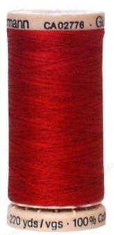 2453 Gutermann Hand Quilting Thread 220 yards Cranberry