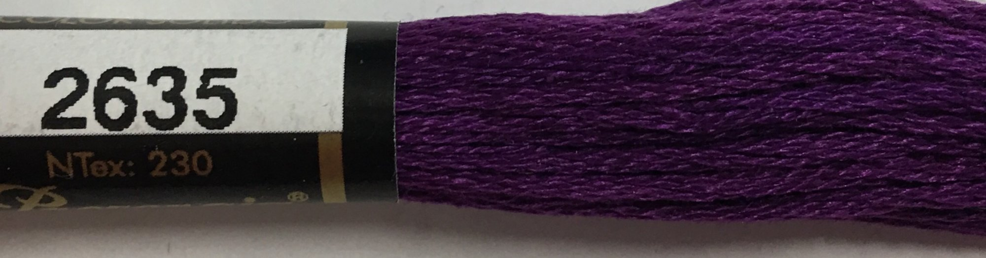 F2635 Presencia 100% Mercerized Finca Cotton 6 ply Embroidery Floss 8 meter skein