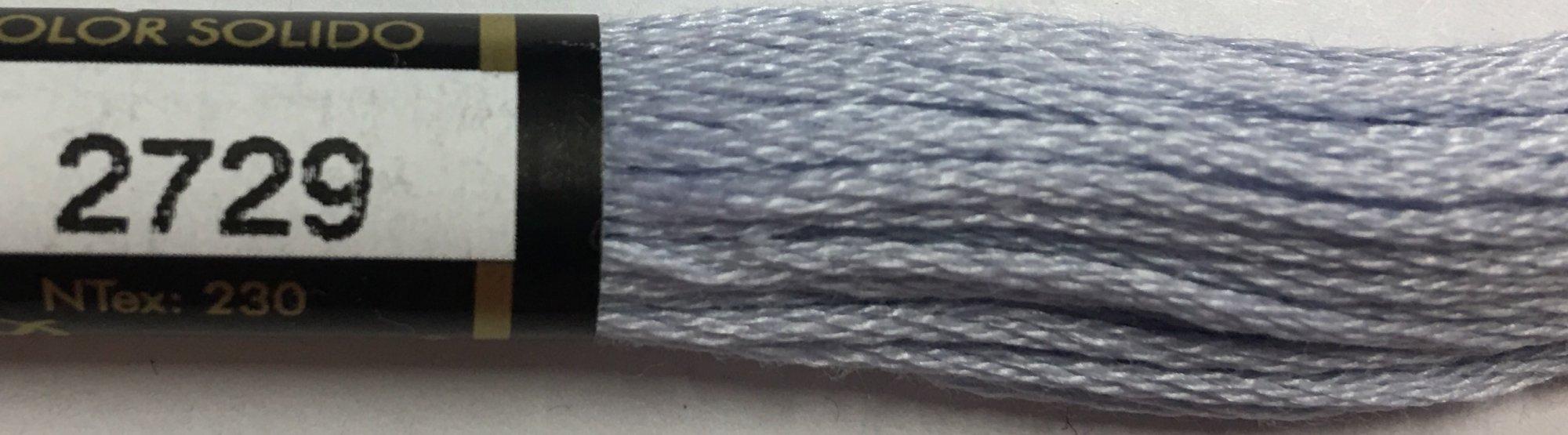 F2729 Presencia 100% Mercerized Finca Cotton 6 ply Embroidery Floss 8 meter skein