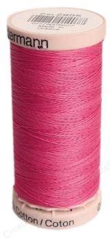 2955 Gutermann Hand Quilting Thread 220 yards Hot Pink