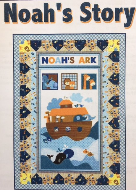 3660P-KIT Noah's Story Quilt #1; 40 by 56