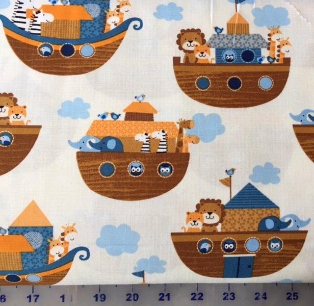 3661-40 Noah's Story Animals on the Arc Cream