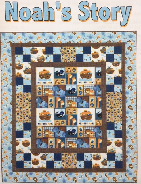 3666-KIT Noah's Story Quilt #2; 53 by 59