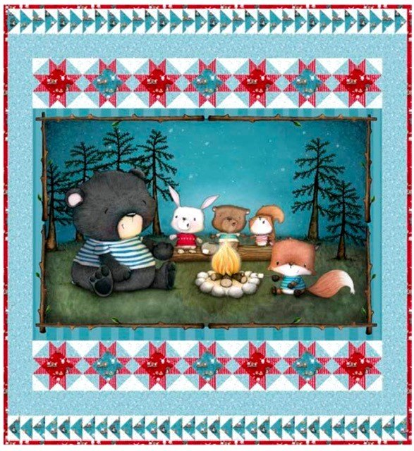 3829A-KIT Quilting Treasures Friendship Song Kit
