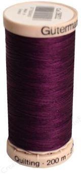 3832 Gutermann Hand Quilting Thread 220 yards Grape