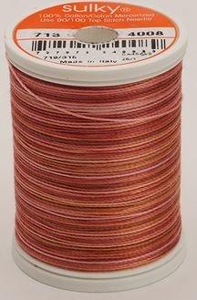 713-4008 Sulky Blendables 100% Cotton 330 yrds 12 wt Mercerized  Peach Parfait