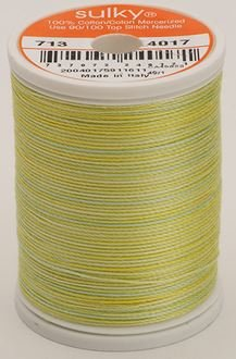 713-4017 Sulky Blendables 100% Cotton 330 yrds 12 wt Mercerized  Lime Sherbert