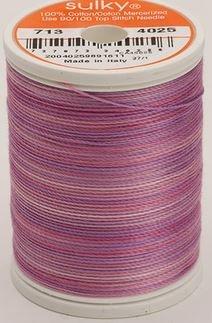 713-4025 Sulky Blendables 100% Cotton 330 yrds 12 wt Mercerized  Hydrangea