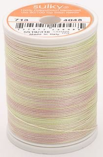 713-4048 Sulky Blendables 100% Cotton 330 yrds 12 wt Mercerized  Gentle Hues