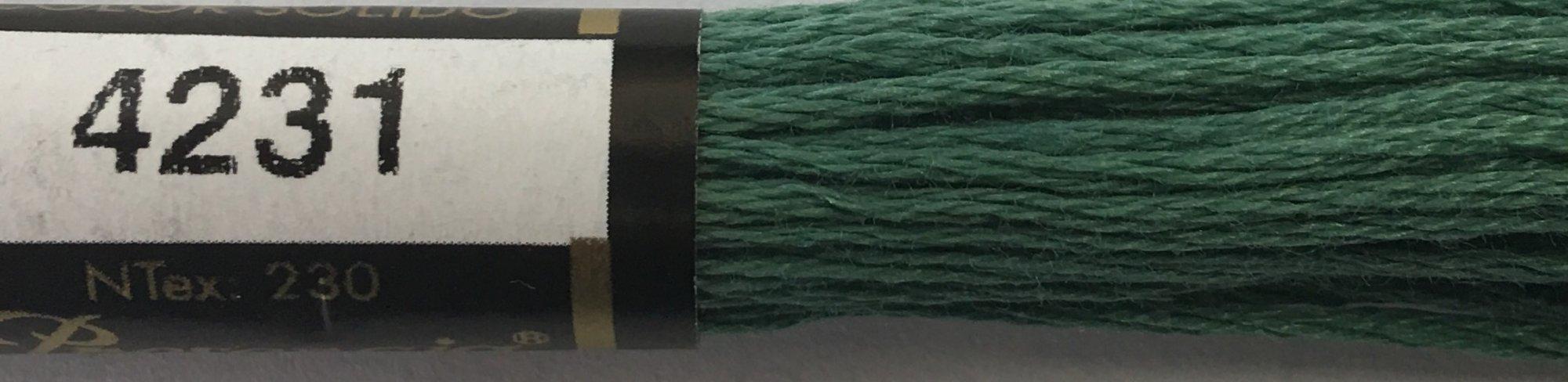 F4231 Presencia 100% Mercerized Finca Cotton 6 ply Embroidery Floss 8 meter skein