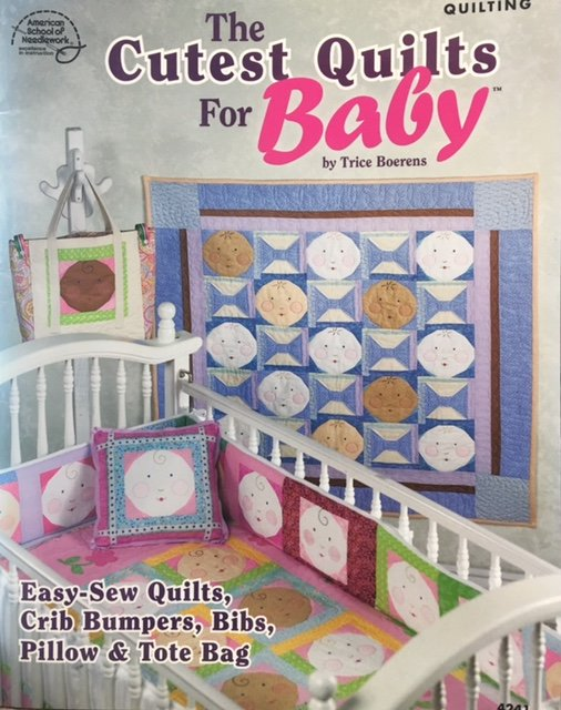 4241 American School for Needlework The Cutest Quilts for Baby