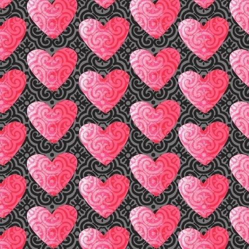 4377-29 Studio E Hearts of Love