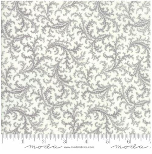 44194-21 Moda Porcelain Silver Swirl