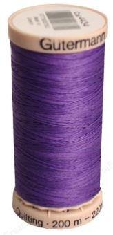 4434 Gutermann Hand Quilting Thread 220 yards Parma Violet
