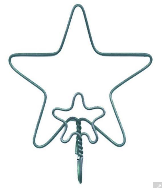 4447, Ackfeld Double Star Single holder.