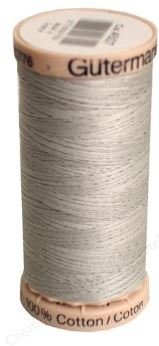 4507 Gutermann Hand Quilting Thread 220 yards Light Grey