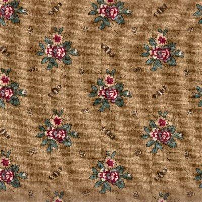 46125-14 Moda Friendship Tan with flowers