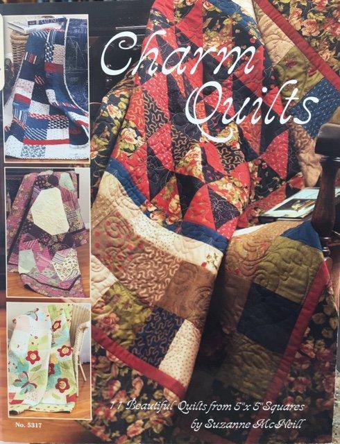 5317, Design Originals Charm Quilts by Suzzanne McNeill